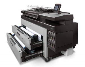 Mit dem HP Drucker PAGE WIDE XL 5100 lassen sich sensationelle Großformatdrucke herstellen