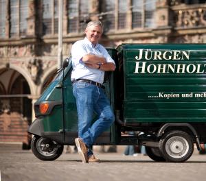 Jürgen Hohnholt ist ein Bremer Traditionsunternehmen für Druckarbeiten